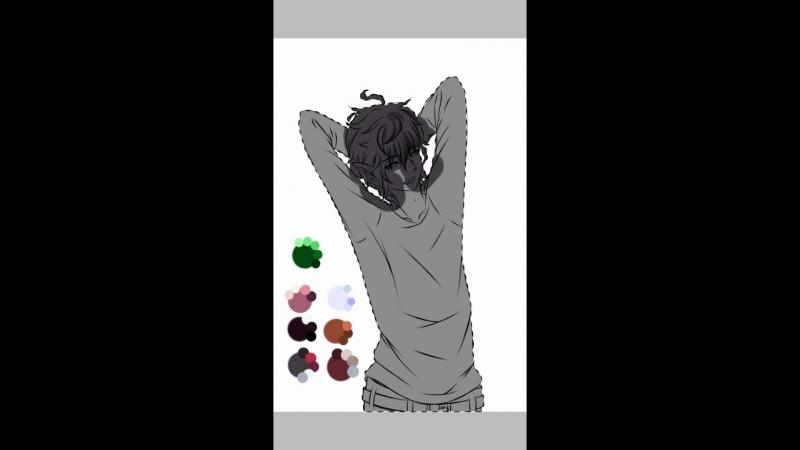 Speedpaint OC (Anime Boy)