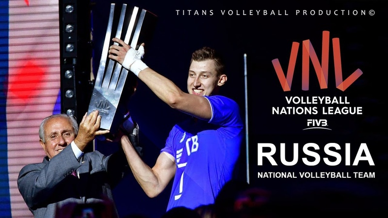 Russia National Volleyball Team   Unbelievable Moments   VNL - 2018