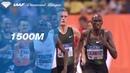 Timothy Cheruiyot 3.28.41 Wins Men's 1500m - IAAF Diamond League Monaco 2018