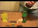 Перикись водородапищевая содаМаунтин дью=СВЕТЯЩЕЯСЯ ВОДА