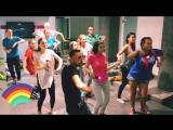 Just Dance разминка. StrelkaHall 15.08.2018