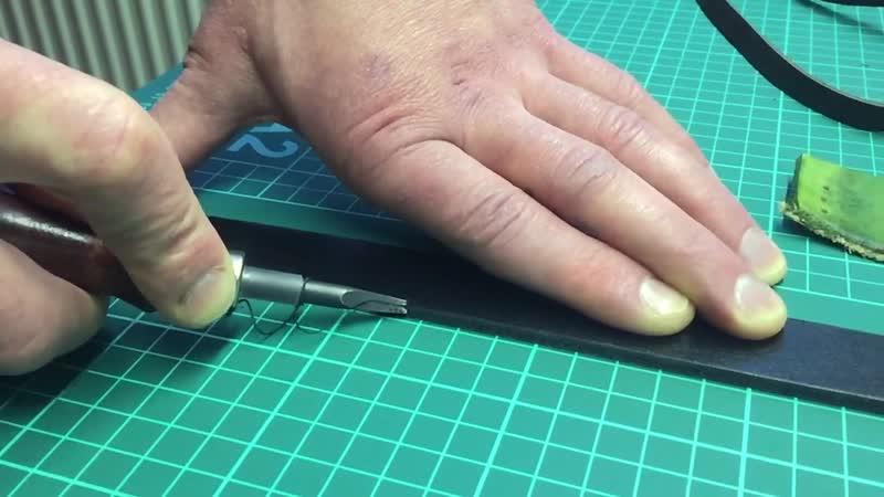 Обработка уреза для разгрузки фотографа LeatherBoy