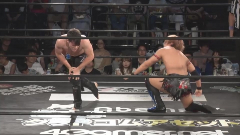 Mike Bailey vs. Shunma Katsumata (DDT - Fighting Beer Garden 2018 ~ King of DDT 2nd Round)