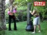 Paris Hilton Boxing