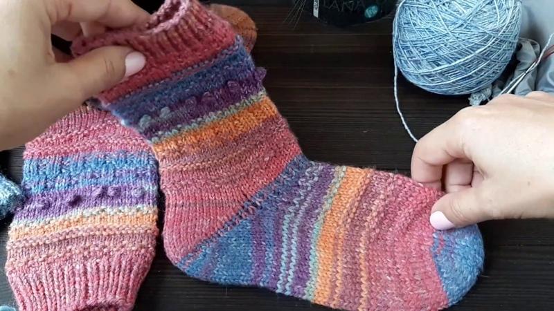 Про вязание носков и метод набора Джуди