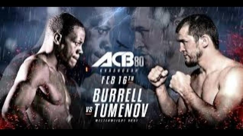 ACB 80: Альберт Туменов - На-Шон Баррел.