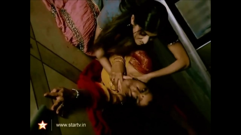 Woman strangling woman - Woman Strangled - Woman is on the floor