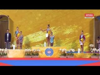 Церемония награждения булавы (EF) — Чемпионат Мира 2018 / Болгария, София