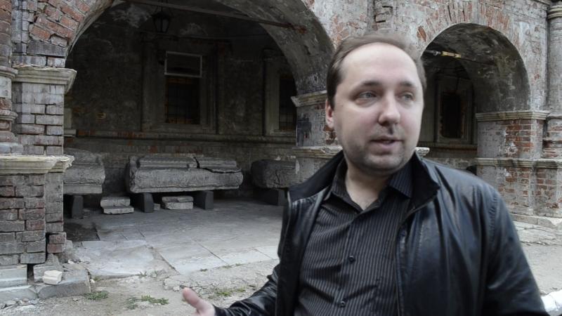 Старинные надгробия в Велико-Петровском монастыре. Максим Марков