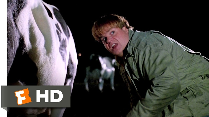 Tommy Boy 1 10 Movie CLIP Cow Tipping 1995 HD