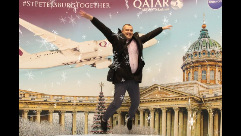 IamflyinStPetersburgTogether QatarAirways