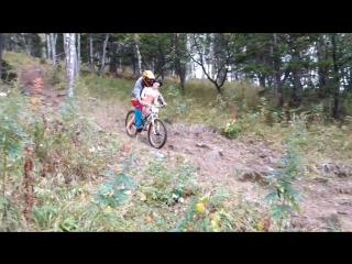Я буду долго гнать велосипед... любовьзла маунтинбайк даунхилл loveis mtb downhill
