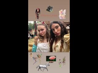 13 мая 2018: Instagram Stories Лейлы