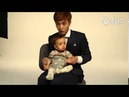 CUTE! Yixing (张艺兴) dances Call Me Baby w/ Baby Brodie ^_^ EXO Lay
