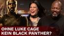 Black Panthers T'Challa Iron Fist in Staffel 3? | Lucy Liu Cheo Hodari Coker über Luke Cage