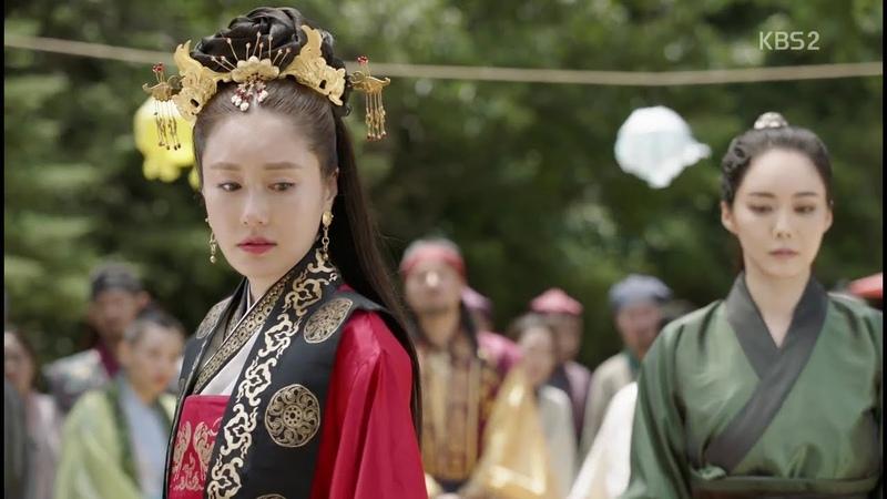 Hwarang: The Beginning. Soo Ho Queen Jiso (Choi MinHo and Kim Ji-Soo). Love theme