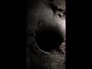 70-метровая скважина в бункере
