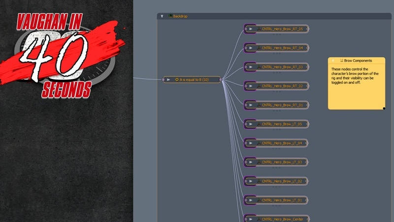 MODO 12.2 | Schematic Comment Node