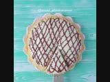 Торт на сковороде (ингредиенты в описании видео)