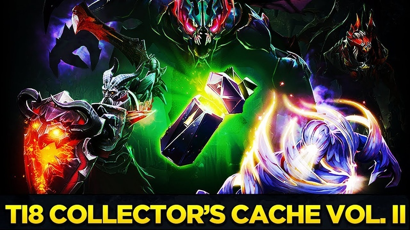 The International 2018 Collector's Cache Volume II Full Preview Treasure Opening Dota 2