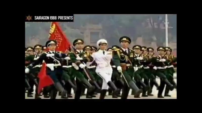 Парад Победы вьетнамцев, надравших задницу пиндосам
