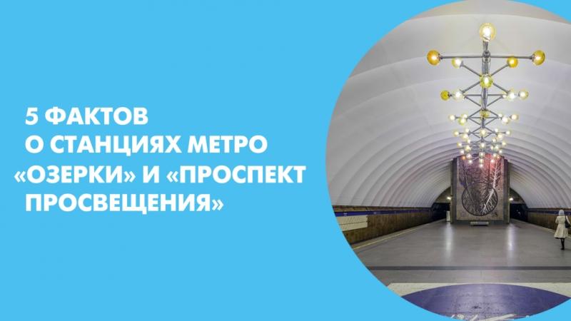 5 фактов о станциях метро Озерки и Проспект Просвещения