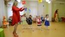 Веселый танец Капелек на празднике Осени в детском саду Младшая группа