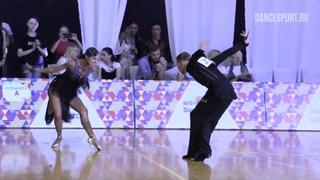 Alexey Dolgushin - Ksenia Piatakhina RUS, Pasodoble | WDSF World Open Latin