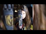 7- летняя Хейли Доусон совершила символическое вбрасывание во вчерашнем матче против