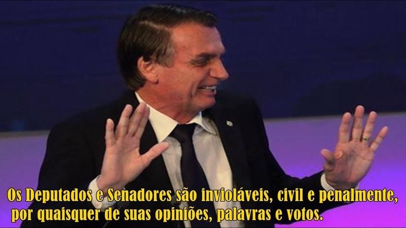 Urgente! STF rejeita denúncia de racismo contra Jair Bolsonaro (11092018)