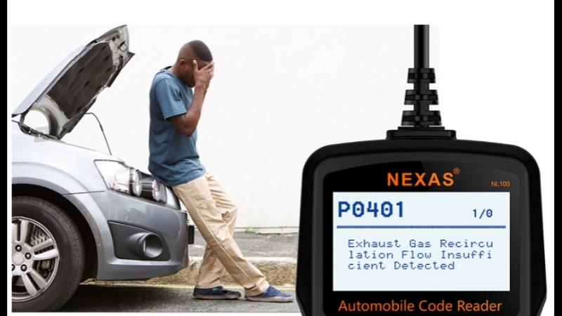 Nexas nl100 OBD2 диагностический сканер двигателя