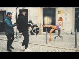 Татьяна Котова на съёмках клипа Adios (2018) 1080p - Голая? Ножки, грудь, попка
