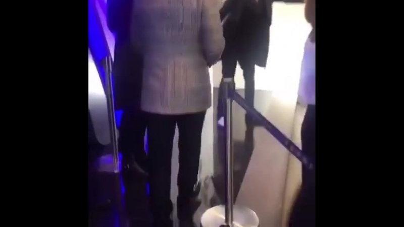 Донни на открытии гонконгского дерби (18.03.2018)