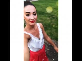 Ольга Бузова instagram истории 21.07.2018