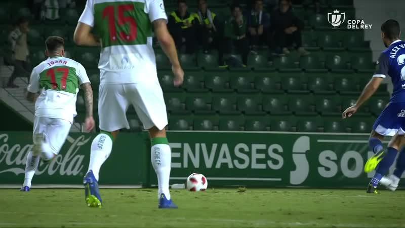 Эльче CF - Кордова CF, 1-4, Кубок Испании 2018-2019, 3 раунд