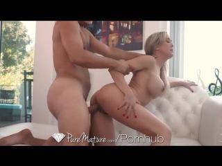 Puremature milf brandi love fucked with dripping deep creampie[porno hd порно]