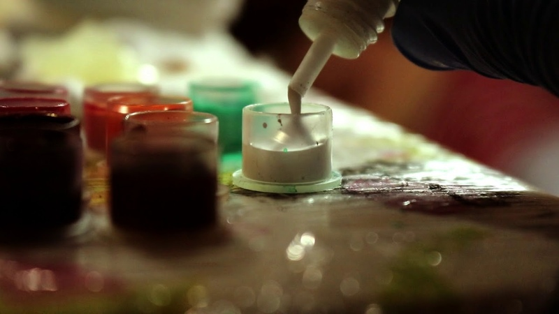 Tattoo inks Radiant. Beautiful colorsPerfect white