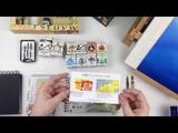 Небольшой обзор по туши Winsor&ampNewton Drawing ink и Calligraphy Ink