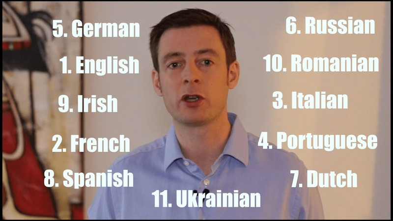 European polyglot speaks in 11 Languages about his plans for 2017 | How to learn languages