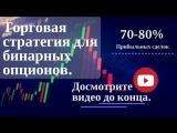 Торговая стратегия для бинарных опционов 60 секунд - 5 минут