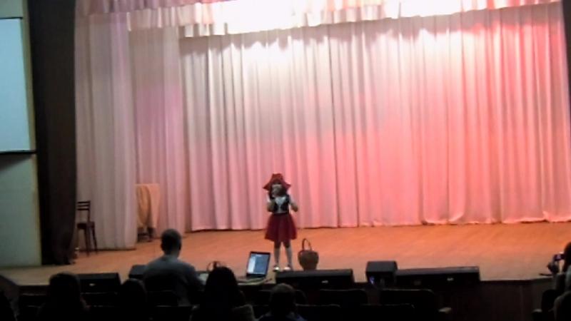 красная шапочка Азалия 7 лет