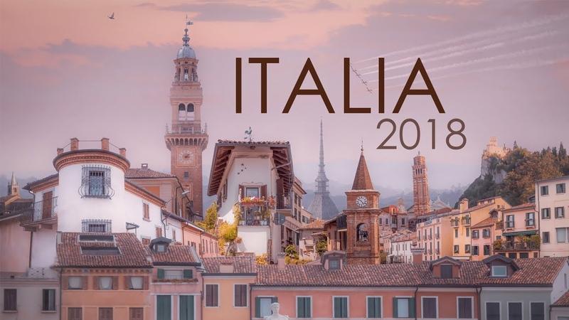 Живописная Италия, от Альп до моря ! iTALY 2018