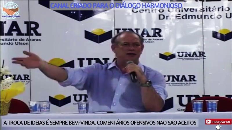 Ciro Gomes Foro de São Paulo é um ajuntamento de múmias fora do tempo e espaço