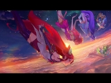 Star Guardians Burning Bright ¦ Login Screen - League of Legends