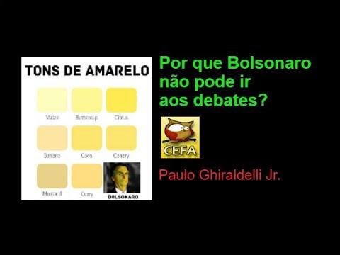 Por que Bolsonaro não pode ir aos debates?