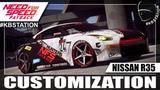 Кастомизация Nissan R35 в Need for Speed Payback к 24-летию Need for Speed