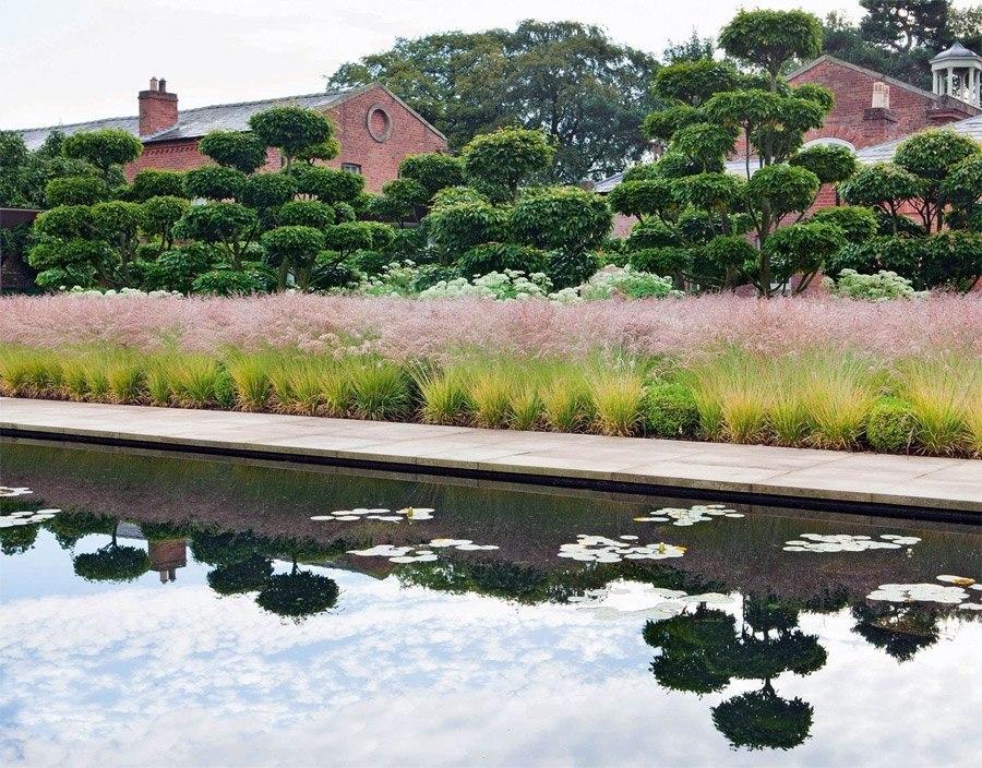 Том Стюарт-Смит: восстановление сада при исторической усадьбе в Чешире