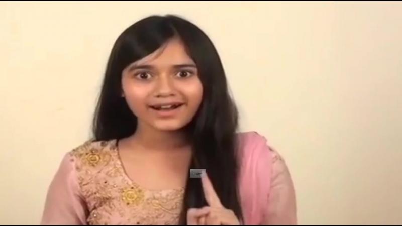 Jannat Zubair Rahmani (Pankti) ! Audition video ! Tu aashiqui ! Colors TV