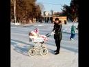 Зимняя прогулка с Reindeer Prestige Lily
