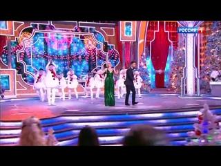 Полина Гагарина и Сергей Лазарев - Потолок ледяной (Новогодний парад звезд)
